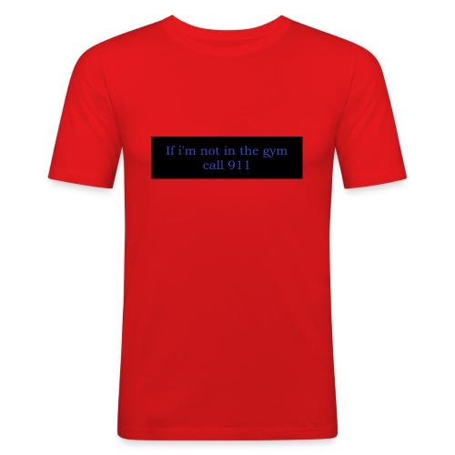swole3 - Slim Fit T-shirt herr
