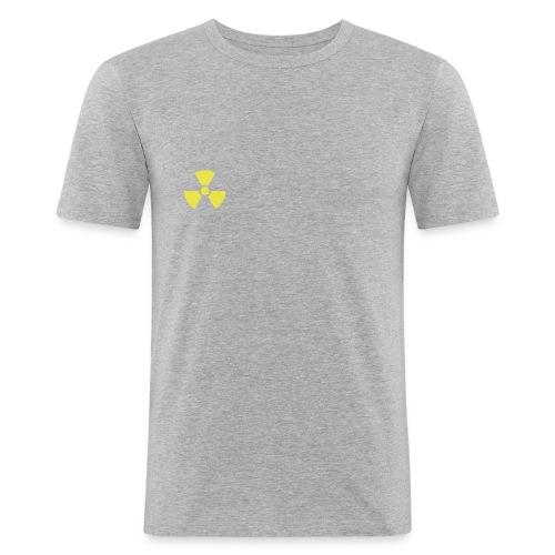 Nuclear - Miesten tyköistuva t-paita