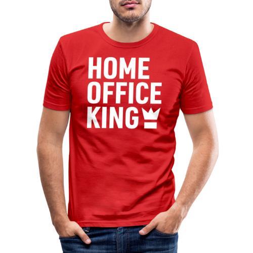 Mitarbeiter Kollege Home Office Quarantäne Corona - Männer Slim Fit T-Shirt