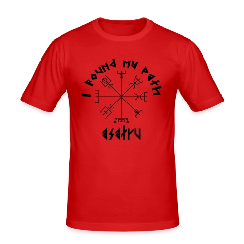 I found my path - Asatru - Men's Slim Fit T-Shirt