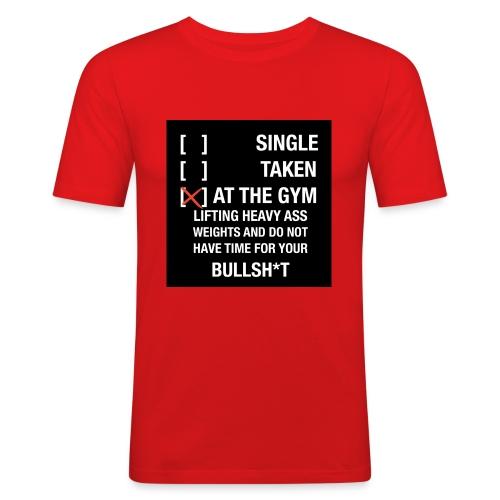 Sodrop single - Mannen slim fit T-shirt