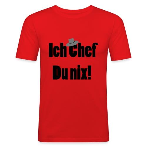 ich chef - Männer Slim Fit T-Shirt