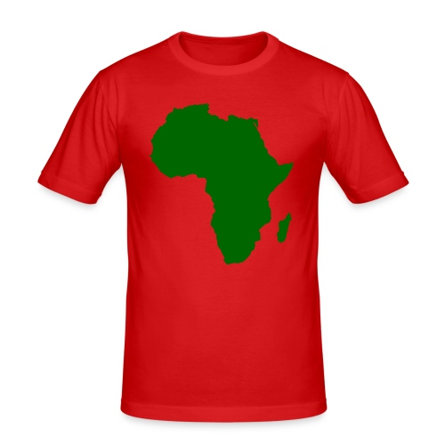 African styles green - Men's Slim Fit T-Shirt