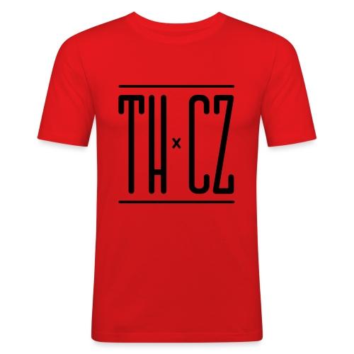Logo THxCZ - T-shirt près du corps Homme