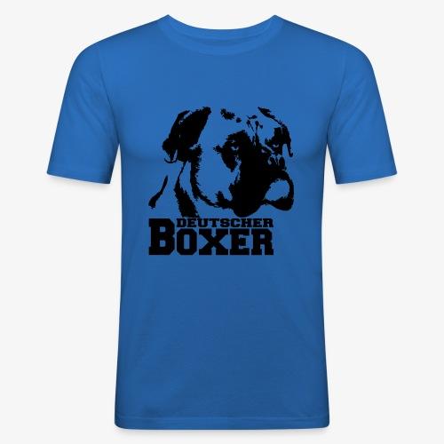 Deutscher Boxer - Männer Slim Fit T-Shirt
