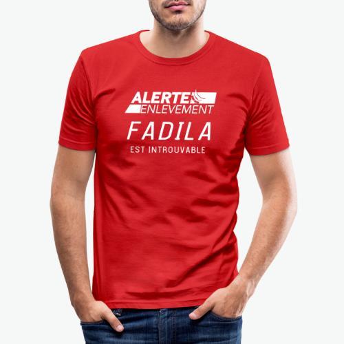 ALERTE ENLEVEMENT - T-shirt près du corps Homme