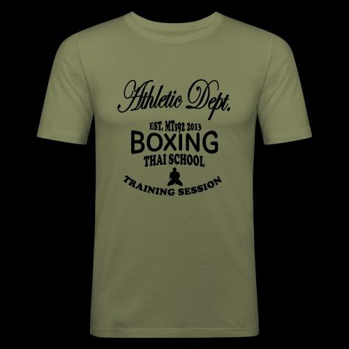 (high_school_couleur_uni) - T-shirt près du corps Homme
