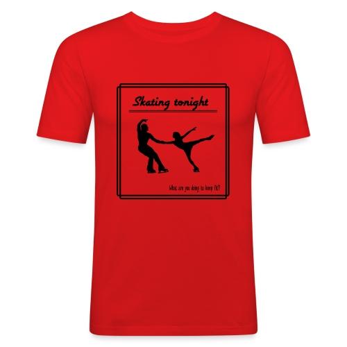 Skating tonight - Miesten tyköistuva t-paita