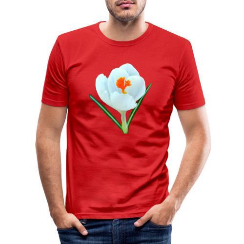 TIAN GREEN - Krokuss 2020 - Männer Slim Fit T-Shirt