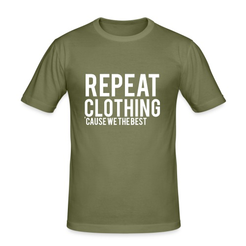 Repeat Clothing - Men's Slim Fit T-Shirt