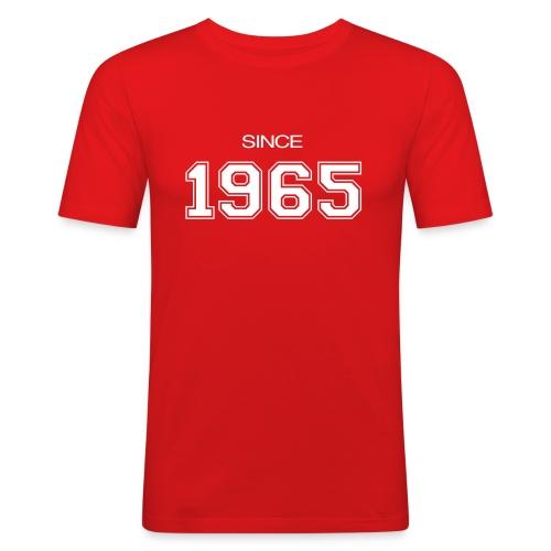 regalo di compleanno 1965 - Maglietta aderente da uomo