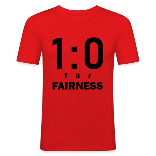 FAIRNESS in Führung - Männer Slim Fit T-Shirt