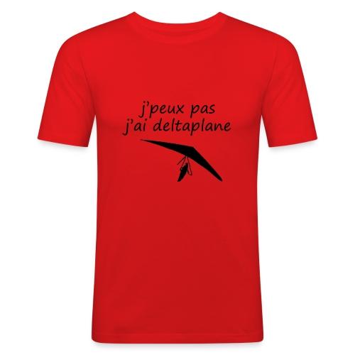 j peuxpas j'ai deltaplane - T-shirt près du corps Homme