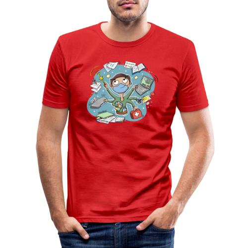 PROFE multitask 2021 - Camiseta ajustada hombre