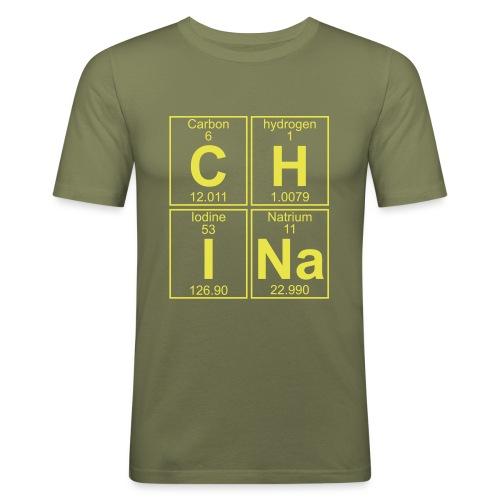C-H-I-Na (china) - Full - Men's Slim Fit T-Shirt