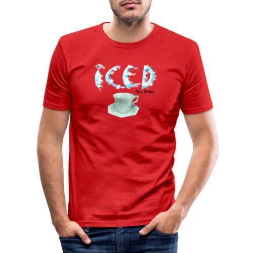 Iced - Tea-Shirt - Men's Slim Fit T-Shirt