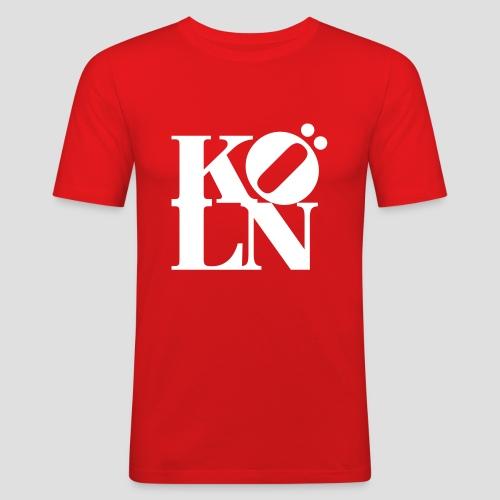 KOELN - Männer Slim Fit T-Shirt