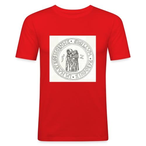 Herzhorn Siegel von 1552 - Männer Slim Fit T-Shirt