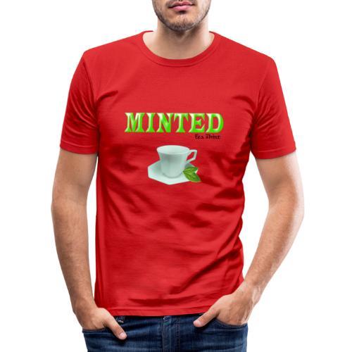 Minted - Tea Shirt - Men's Slim Fit T-Shirt