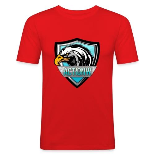 Fan shirt + Logo - Mannen slim fit T-shirt