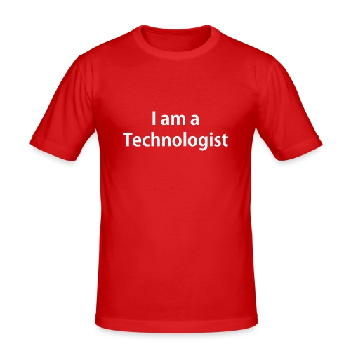 Technologist - Men's Slim Fit T-Shirt