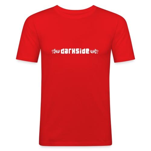 darkside logo 20080414 - Slim Fit T-shirt herr