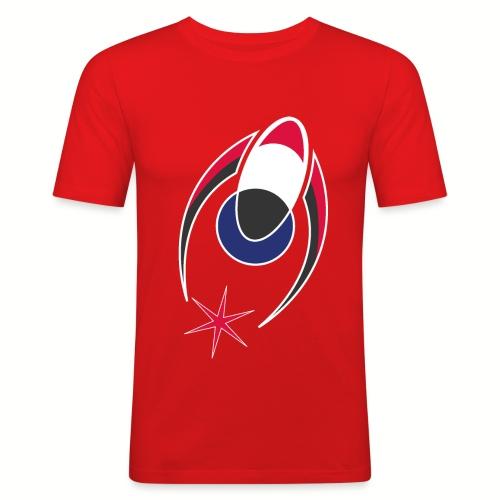Logo Alone - Men's Slim Fit T-Shirt