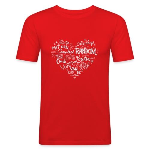 Hart - Mannen slim fit T-shirt