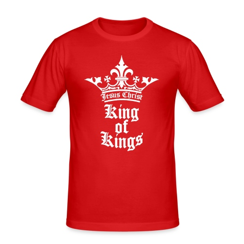 king_of_kings - Männer Slim Fit T-Shirt