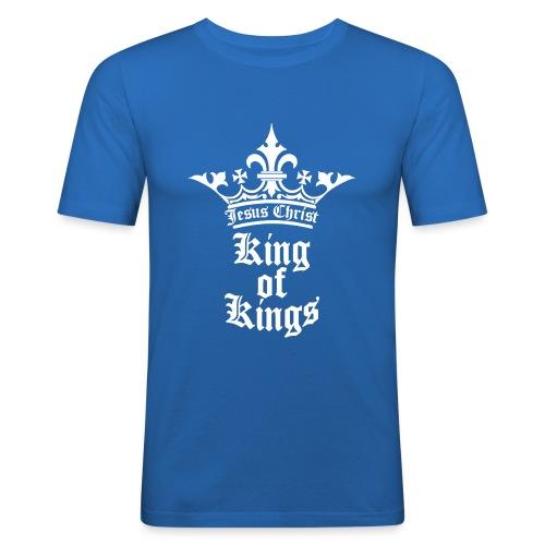 king_of_kings - Männer Slim Fit T-Shirt