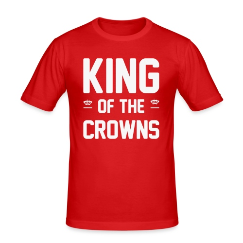 King of the crowns - Mannen slim fit T-shirt
