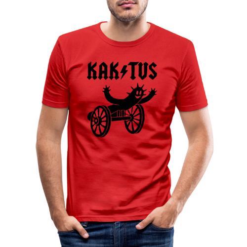 Kaktus Rock - Männer Slim Fit T-Shirt