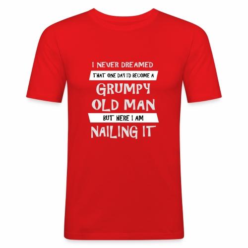 Grumpy 2 - Herre Slim Fit T-Shirt