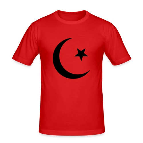 islam-logo - Men's Slim Fit T-Shirt