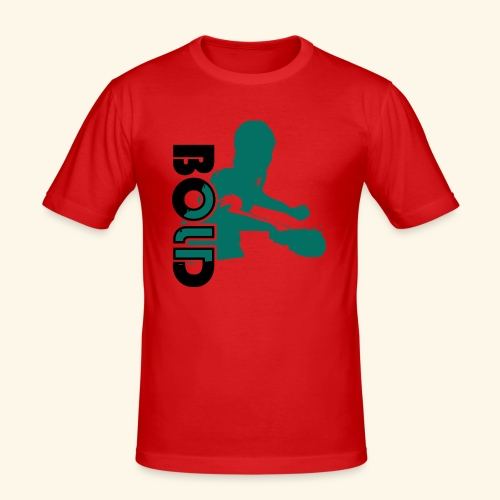 BOLD, table tennis championship ideal gift - Männer Slim Fit T-Shirt