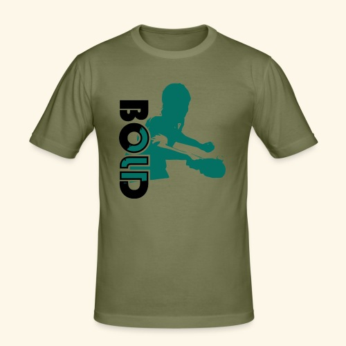 BOLD, table tennis championship ideal gift - Männer Slim Fit T-Shirt