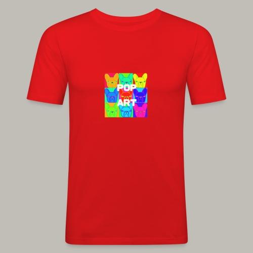 L'art de la Pop - T-shirt près du corps Homme