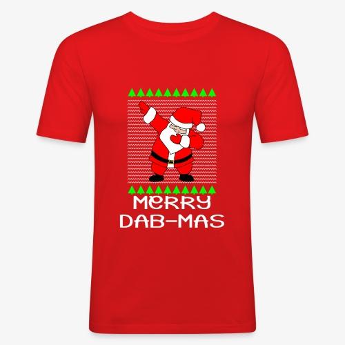 Merry Dabmas Ugly Xmas - Männer Slim Fit T-Shirt
