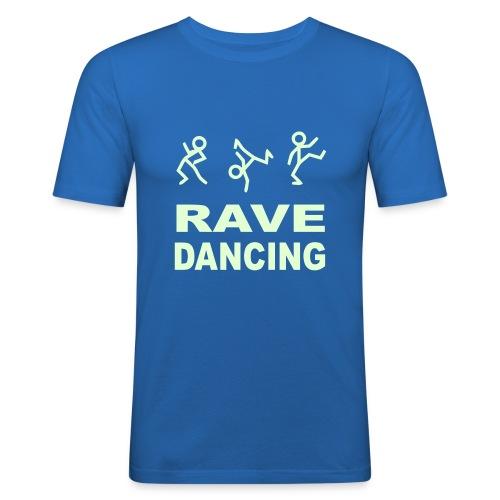 Rave Dancing - Men's Slim Fit T-Shirt