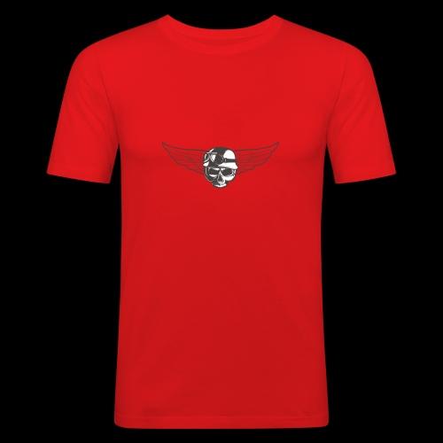 Biker skull - Men's Slim Fit T-Shirt