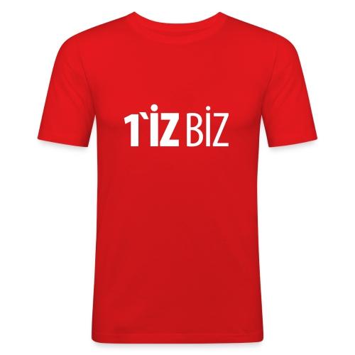 1iz biz - Männer Slim Fit T-Shirt