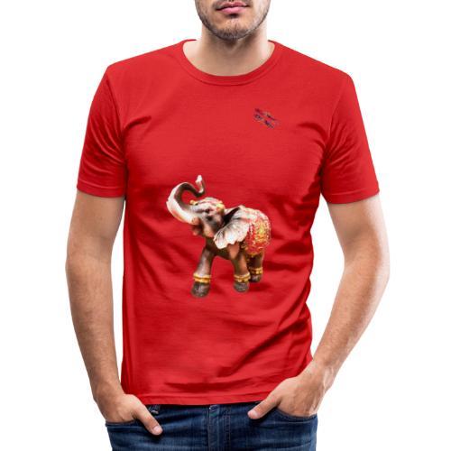 Elefant Junior Randy Design - Männer Slim Fit T-Shirt