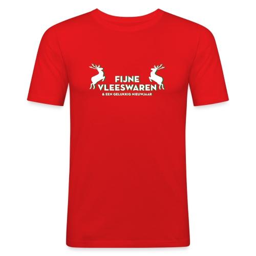 Fijne Vleeswaren - Mannen slim fit T-shirt