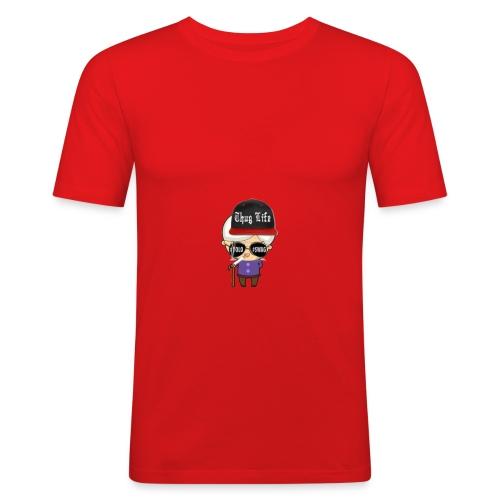 Angry Granny T-shirt - Männer Slim Fit T-Shirt