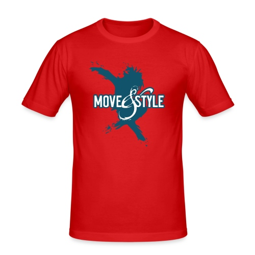 Move and Style Dance Academy - Männer Slim Fit T-Shirt