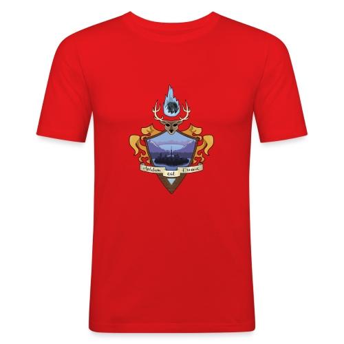 EMBLEMA EL BORRAO - Camiseta ajustada hombre