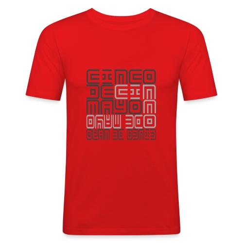 Mexico - Cinco de Mayo - Mannen slim fit T-shirt