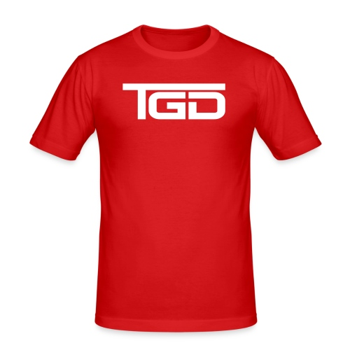 TGD Logo full - Männer Slim Fit T-Shirt