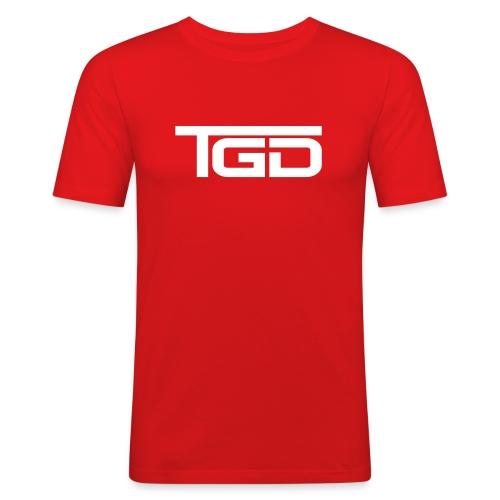 TGD Logo full - Männer Slim Fit T-Shirt