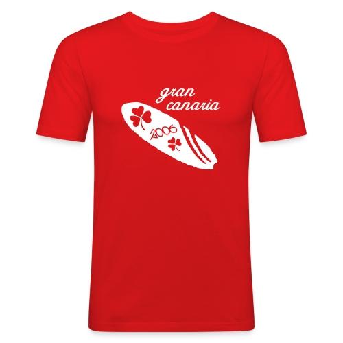 vektor gran canaria design 2006 - Männer Slim Fit T-Shirt